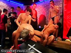 Party men sucks and nude gay The vampire tear up celebrate h