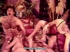 Peeping Guy Joins Hot abuse forced fuck bokep selingkuh keponakan Orgy 1960s Vintage