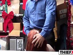 Petite Redhead Teen Thief Gets Fucked