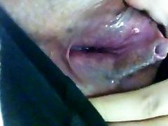 Wet Mature cunt close-up! Amateur!