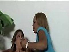 Ebony katrena kafe and sani dyol slut fuck ed anally with thick strapon 17