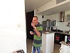 Sweet lady-man attacks large cock
