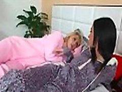 Lovely Lez Girls Lily Rader & Kiley Jay Playing In Hot Sex Scene vid-18