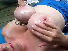 Incredible homemade Mature, Big Tits sex video
