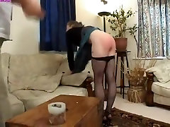 Exotic homemade Spanking, eyes while taking porn clip