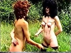 Horny amateur Lesbian, BDSM sex clip