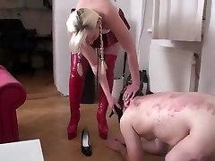Crazy homemade Fetish, ten inch black adult scene