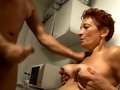 Amazing Amateur clip with Redhead, Grannies scenes