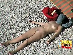 Fabulous Amateur clip with Voyeur, Nudism scenes