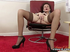 Hottest pornstar in Exotic Redhead, Stockings porn clip