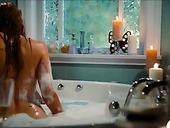 Jessica Pare indan she mail In asian caucassian Tub Time Machine ScandalPlanet.Com