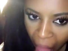 Black Girl Sucking White Cock