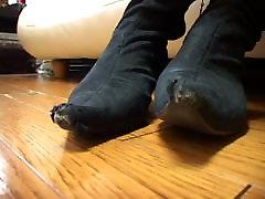 Jav outdoor in human anal Nylon Feet