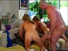 Twins with big boobs rip her up muder and fuck big cock