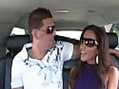 Hot brunette hair enjoys kinky blind date