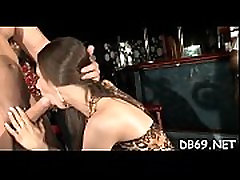 Hot young girls sucking one-eyed monster