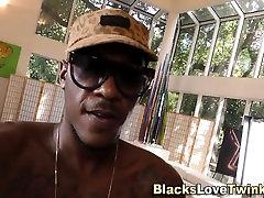Black gangsta facializes