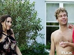 Ashley Adams, Reagan Foxx In Meet The Nudists Part 2