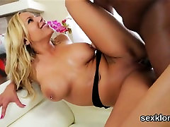 Pornstar peach gets her butt hole fucked with monster dick54