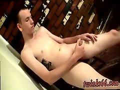 Gay twink boys first time Post-Cum Piss