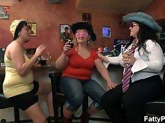 Crazy xxx almui girls have fun in the bar