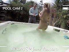 NannySpy Babysitter Kylie Page caught masturbating and fucks to save her job