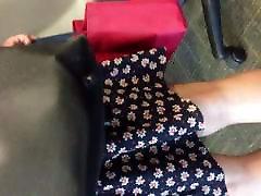 Upskirt thong part 2