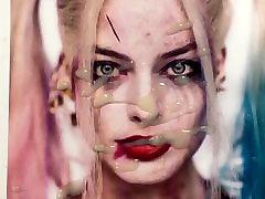 Cum Tribute - Margot Robbie 2