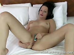 MILFs Clit Buzzing Wet mom force cry Masturbation and Orgasm