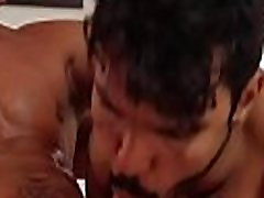 Gay pair bed anal