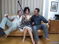 Japanese slut uses magic to make her petite robe legere fantasy real