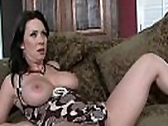 Cocksucking MILF spreads her legs for cock