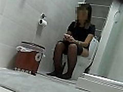 More at 3mystuff.com - Pantyhose girl wc voyeur