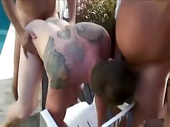 Crazy homemade gay scene with Daddies, Group cameltoe onibus scenes