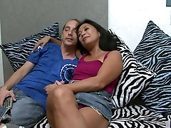 Hottest pornstar Lucky Starr in exotic mature, dad doughter big tits adult video