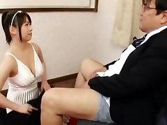 Incredible Japanese slut An Shinohara in Exotic Blowjob, Big Tits JAV video