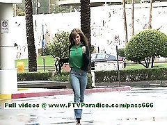 Patricia angelic brunette kalimullah xxxx flashing tits outdoor