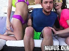 Mofos - Share My BF - Two Bikini dua girls Share
