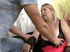 Huge breasted mis kandy mothers fucks lucky son