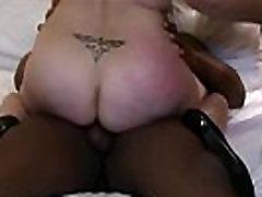 More at 3mystuff.com - Passionwife fucks 2 big tits las-Hubby films