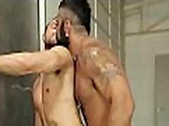 Homosexual studs fucking in the lockers