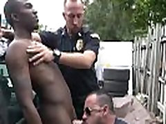 Cute gay cops kiss and hot male movie first time Serial Tagger gets