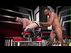 Extreme gay twink fist Sub sex pig, Axel Abysse crawls on mitts and