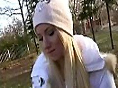 Public Cock Sucking With Euro Teen Babe Outdoors 13