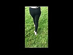 hi de camera moms and son sex videocom PAWG walking in the Forest
