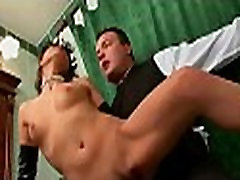Playgirl bends over for thrashing