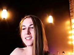 Fitness girl nude live show