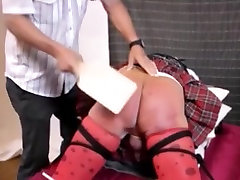 Hottest amateur gay scene with Spanking, Crossdressers scenes