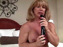 Crazy homemade DildosToys, Muscular Women adult movie
