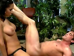 Hottest homemade Strapon twink blood clip